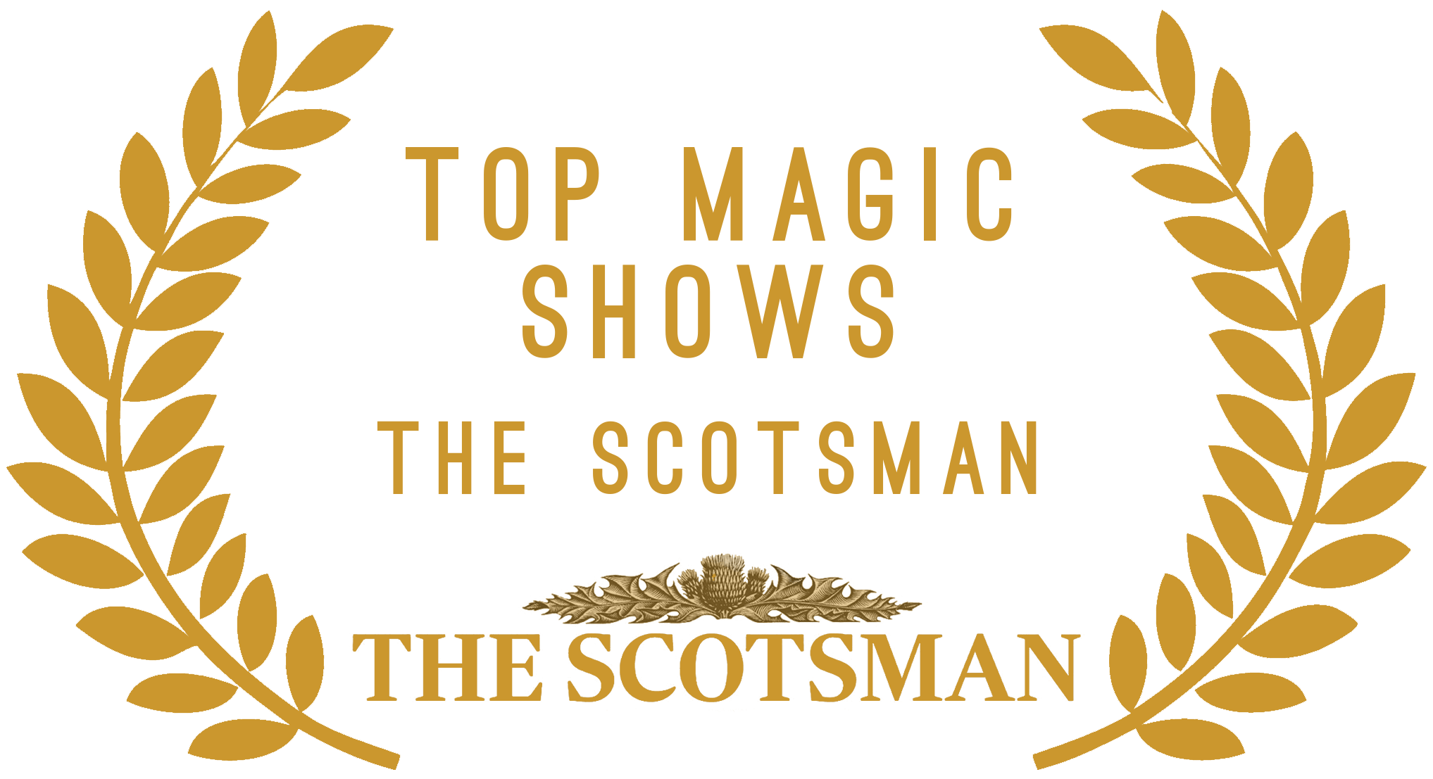 The scotsman top magic show award for Manchester magician Aaron Calvert